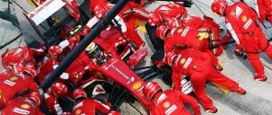 F1 pitstop